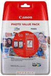 CANON PG545XL+CL546XL multipack + 50db 10x15cm /GP501/ fotópapír csomag (8286B006)