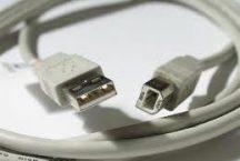 Nyomtatókábel, USB, 2m