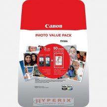CANON PG560XL+CL561XL multipack + 50db 10x15cm Glossy fotópapír csomag (3712C004)