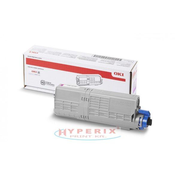 OKI C532/C542 High Toner Magenta 6K, Eredeti /46490606/