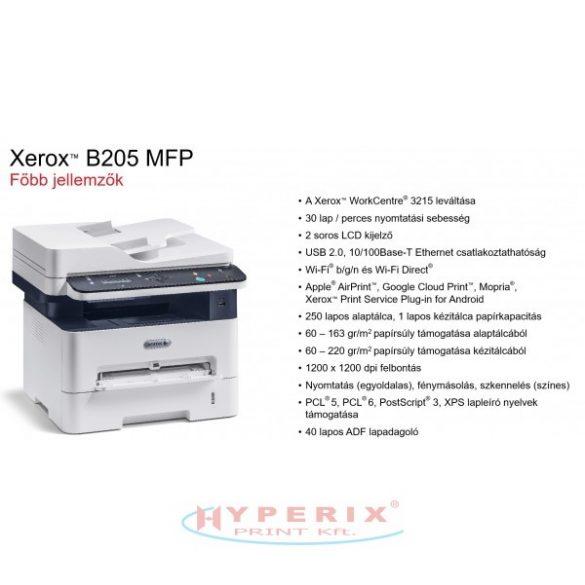 Xerox B205V NI, wifis, hálózatos, multifunkciós lézernyomtató (B205V_NI)