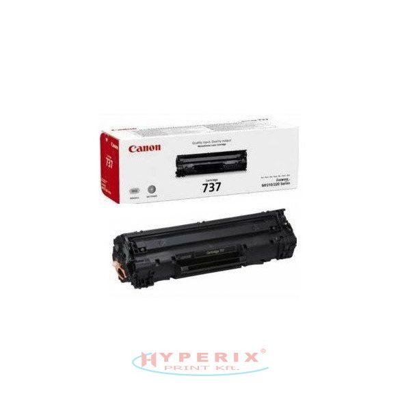 Canon CRG737  eredeti fekete (black)  toner 2,4K (9435B002)
