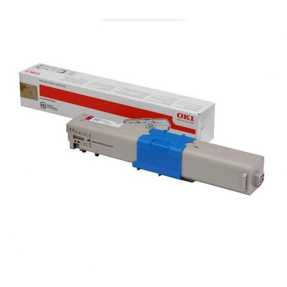 OKI C532/C542/MC563/MC573, Toner Magenta 1,5K (46490402, Eredeti)
